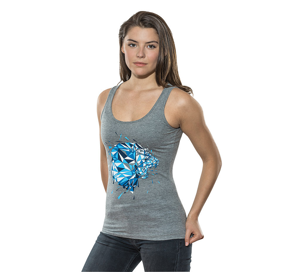 Lady Tanktop Polygon