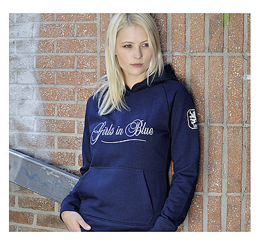 Lady Kapuzensweatshirt Girls in Blue