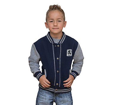 Kinder Collegejacke