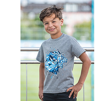 Kinder T-Shirt Polygon