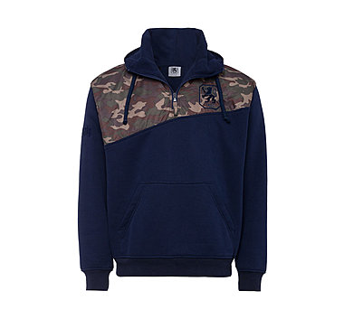 Hoodie Camouflage green