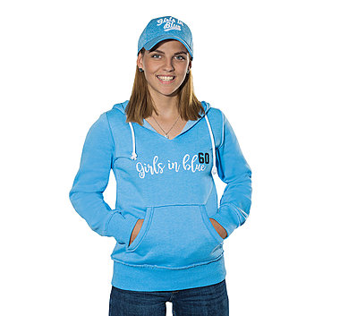 Lady Hoodie Girls in Blue